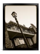 Art Deco House, Framed Print