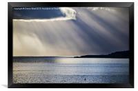 Tenby to Caldey Island, Framed Print