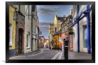 Upper Frog Street, Tenby, Framed Print