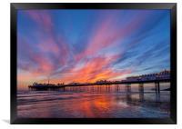 Brighton Sunset, Framed Print