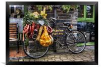 Olde Bike, Framed Print