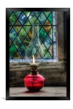 Eternal Flame, Framed Print