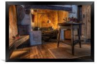 Olde Kitchen, Framed Print