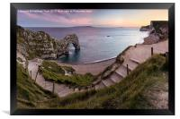 Path to Durdle Door, Framed Print