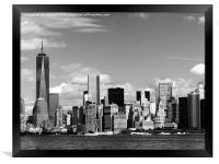 Freedom Tower New York, Framed Print