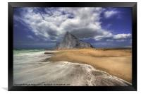 Lavante Over Gibraltar, Framed Print