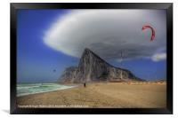 The Kite Surfer, Framed Print