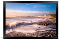 Compton Bay Beach 3, Framed Print