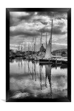 Maritime Reflections, Framed Print