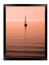 Morning Sail, Framed Print