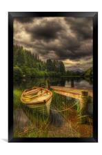 Loch Ard, Framed Print