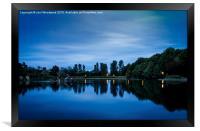 Llandrindod Wells Lake, Framed Print
