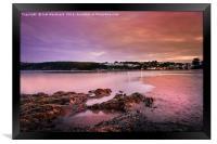 Saundersfoot Bay, Framed Print