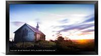 Old Church Llandrindod Wells, Framed Print