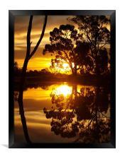 Mirrored Image, Framed Print