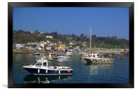 Lyme Regis Harbour from The Cobb, Framed Print