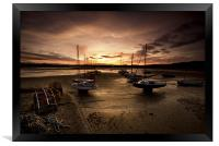 Beadnall Harbour, Framed Print