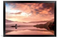Glenridding Sunrise, Framed Print
