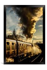 Steaming Ahead , Framed Print
