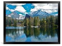 The Tatra Mountains, Framed Print