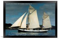 Tallship Tecla, Framed Print