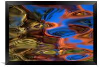Lily Pond , Framed Print