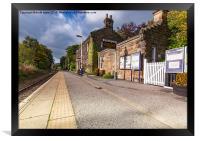 Egton Bridge Railway Station, Framed Print