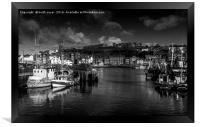 Whitby Harbour, Framed Print