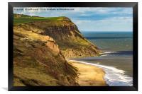 Imposing Cliffs, Framed Print