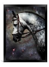 The Horse Among the Stars, Framed Print