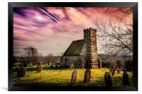 Upleatham Church, Framed Print