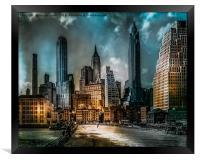 Old New York, Framed Print