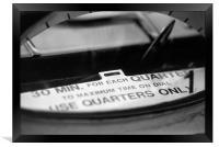 Pittsburgh, Pennsylvania Parking Meter, Framed Print