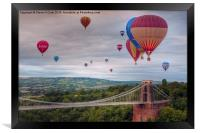 02 Bristol Balloon Fiesta, Framed Print
