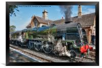 LMS Royal Scot, Framed Print