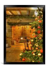 Christmas Glow, Framed Print