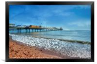 Early morning by Paignton Pier, Framed Print