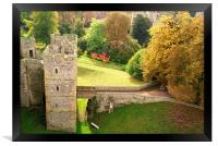 A View From The Castle, Framed Print