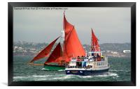 A Days Sailing Two, Framed Print