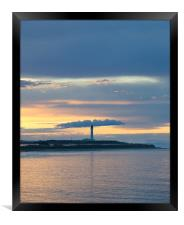 Lighthouse in Lossiemouth, Framed Print