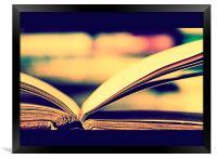 I Want To Write A Book, Framed Print