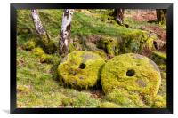 Peak District Millstones, Framed Print