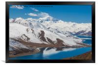 Yamdrok Lake - Tibet, Framed Print