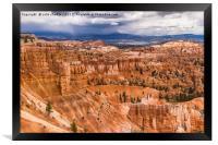 Bryce Canyon Hoodoos - USA, Framed Print