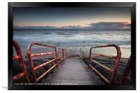 Aberavon beach, Framed Print