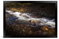 The Neath river, Framed Print