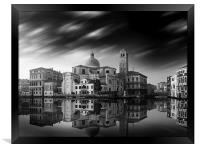 Venice Old Town Italy, Framed Print
