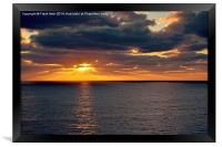 Sunrise in Gran Canaria, Framed Print