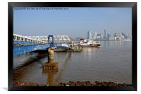 Snowdrop leaving Seacombe Ferry, Framed Print