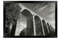 Monumental Bridge, Framed Print